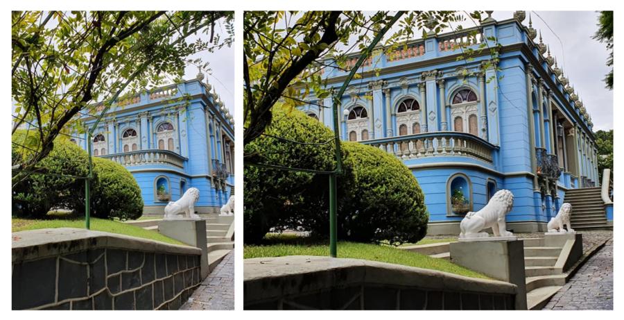 Palacete dos Leões ou Palácio dos Leões (1902).