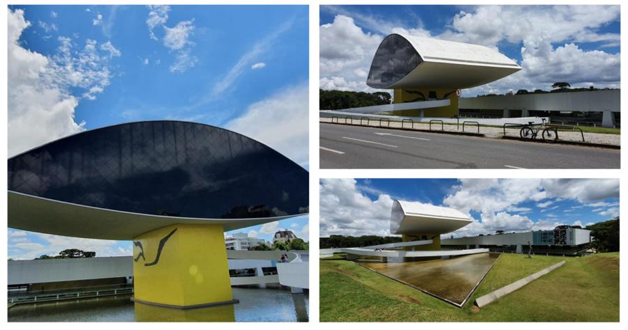 Museu Oscar Niemeyer (MON) ou Museu do Olho.