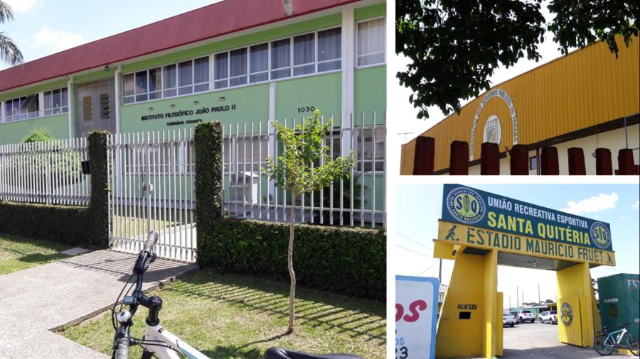 Seminário, Associação de Servidores e União Recreativa (Estádio).