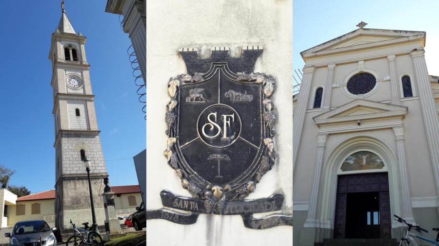 Igreja de São José e Santa Felicidade.