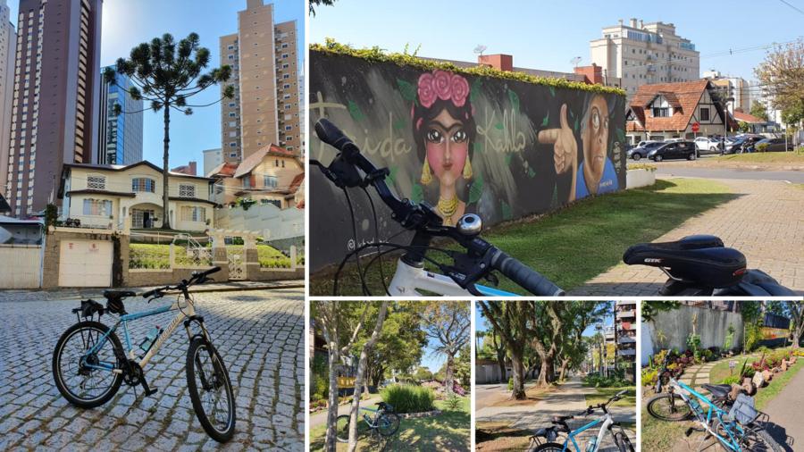 Esse é o Cabral: ruas arborizadas e floridas; homenagem à pintora mexicana Frida Kahlo (1907-1954).