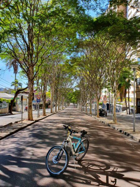 Curitiba em duas rodas: Av. Padre Anchieta no Bigorrilho (Curitiba/PR).