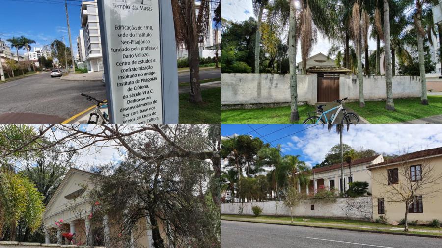 Templo das Musas de 1918 - o coração verde da Vila Izabel.