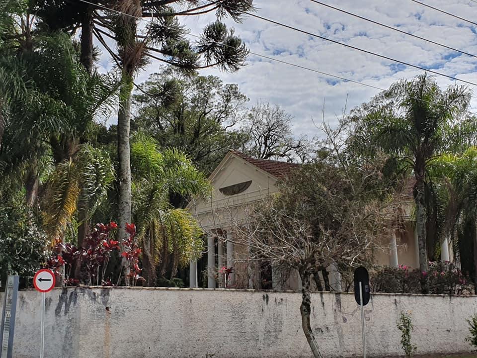Templo das Musas no bairro Vila Izabel em Curitiba.