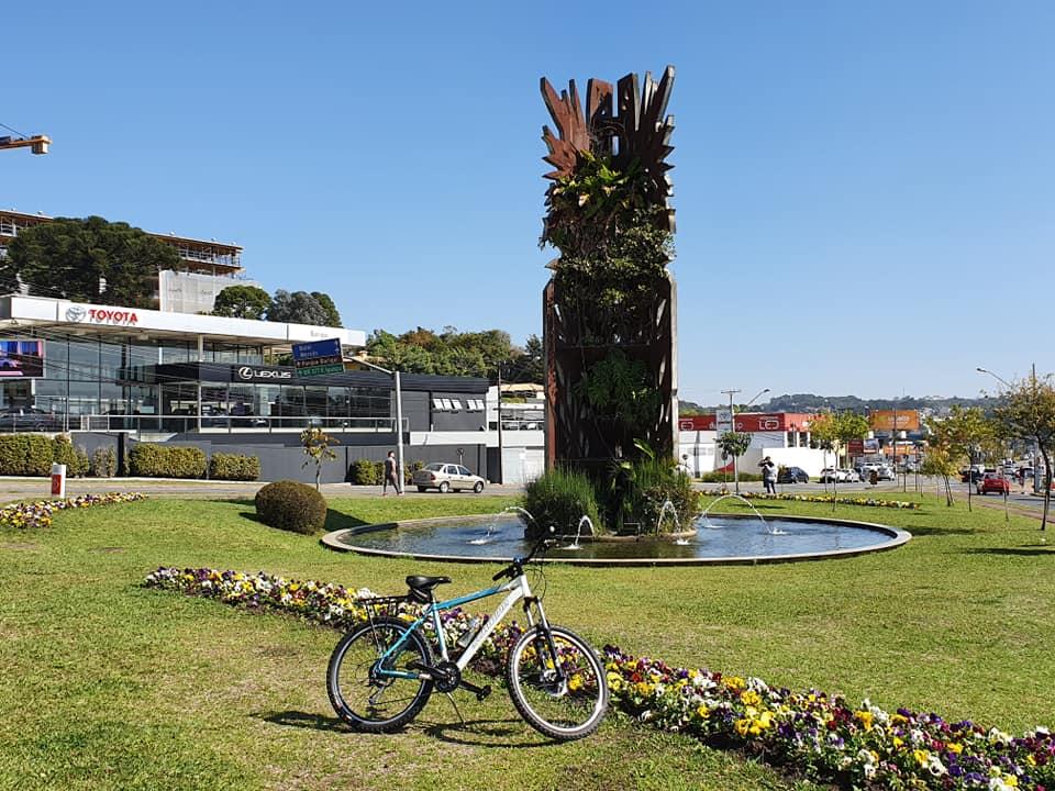 Praça Frederico Ozanan na Campina do Siqueira em Curitiba.