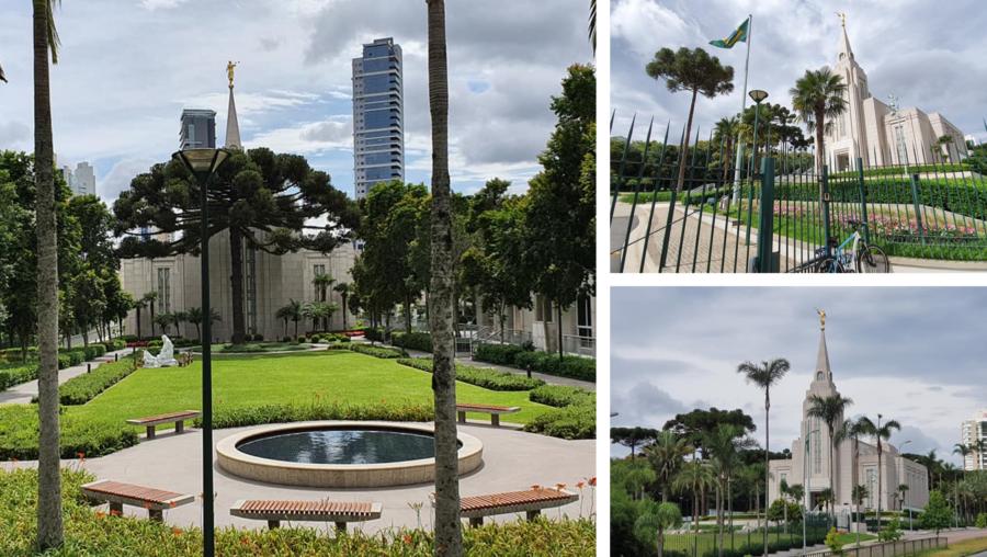 Templo Curitiba da Igreja de Jesus Cristo dos Santos dos Últimos Dias