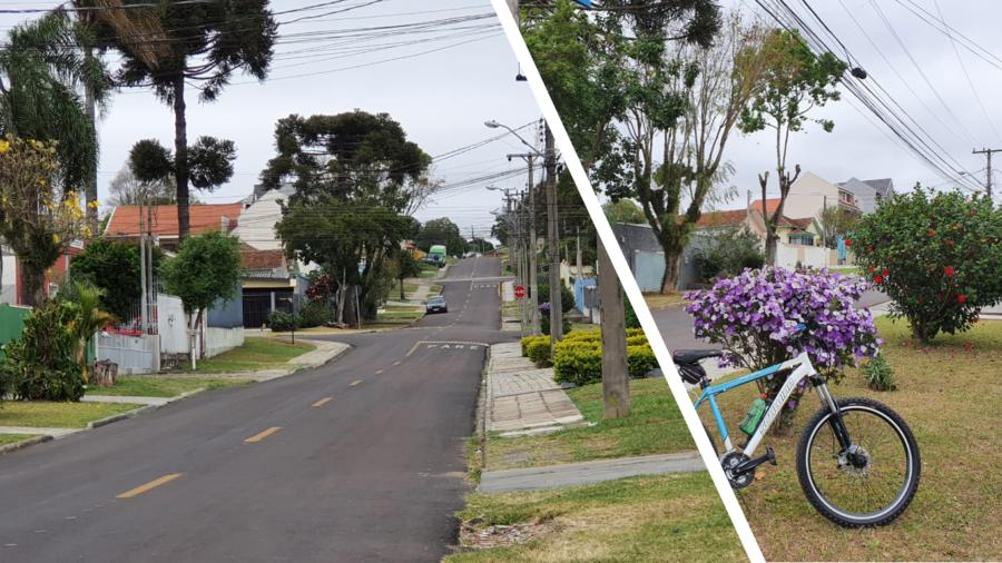Rua Goiás em Guaíra (Curitiba - PR).