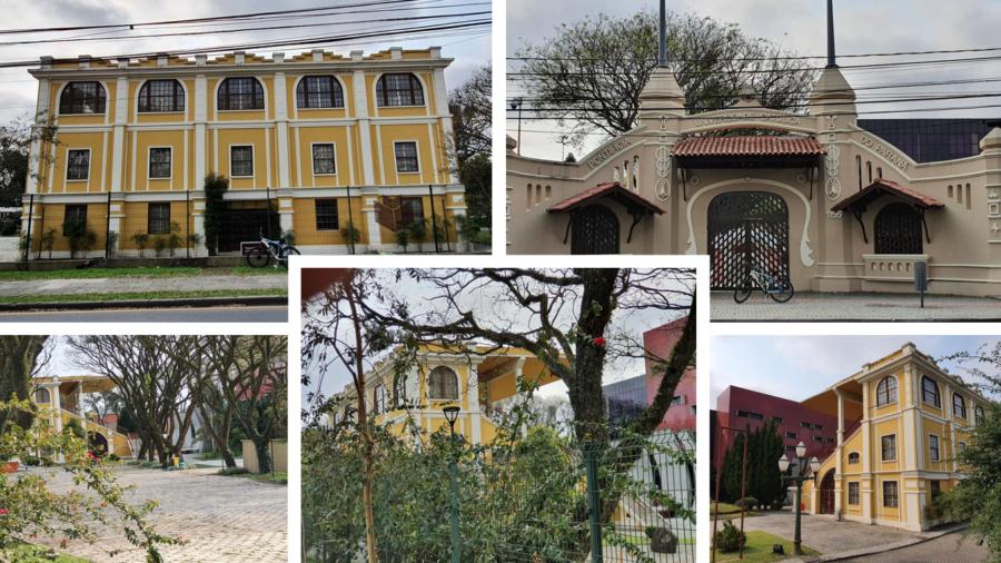PUC-PR e a arquibancada do antigo Jockey Club do Paraná