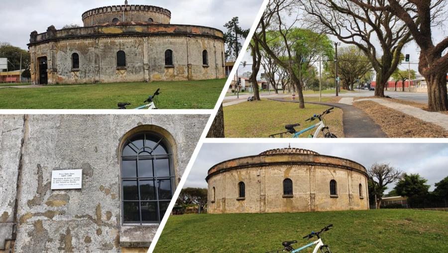 Paiol em estilo romano e formato circular (construído em 1874) pelo Exército Brasileiro para ser o arsenal de pólvora. Em 1971 virou teatro, tendo sido inaugurado em show com Toquinho, Vinícius e Marília Medalha.