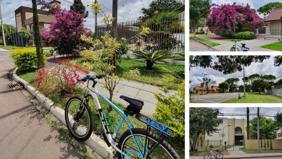 Ruas arborizadas e calçadas floridas. Áreas de lazer para os moradores do bairro e a Igreja Jesus Cristo dos Santos dos Últimos Dias.