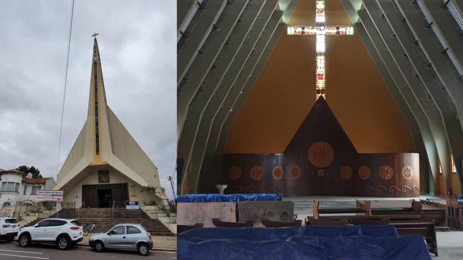 Igreja Nossa Senhora do Rocio (Rebouças).