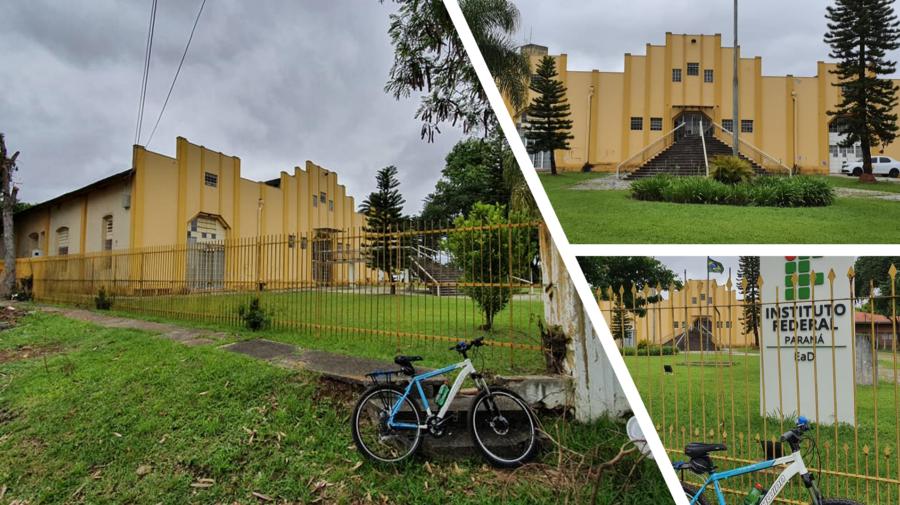 O antigo matadouro municipal, que virou ASSOMA até 2008 e hoje é o prédio do IFPR (Instituto Federal do Paraná).