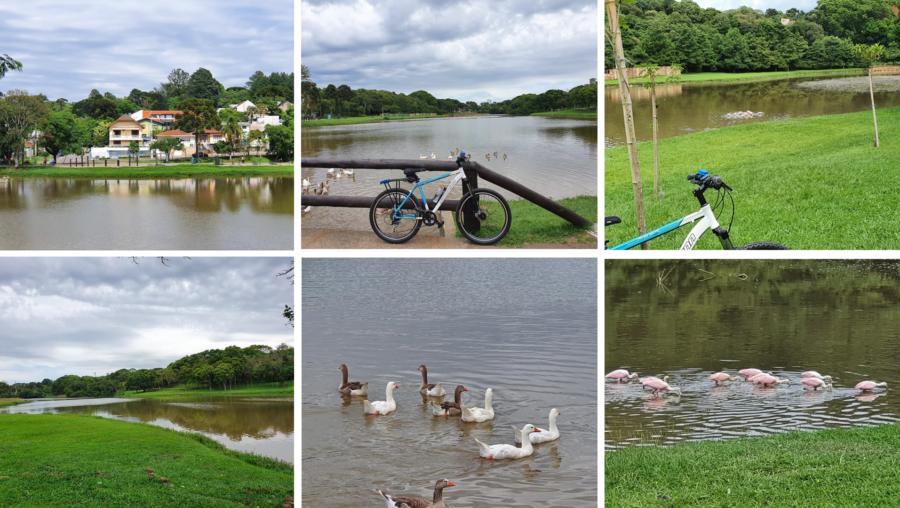 O lindo Parque São Lourenço.