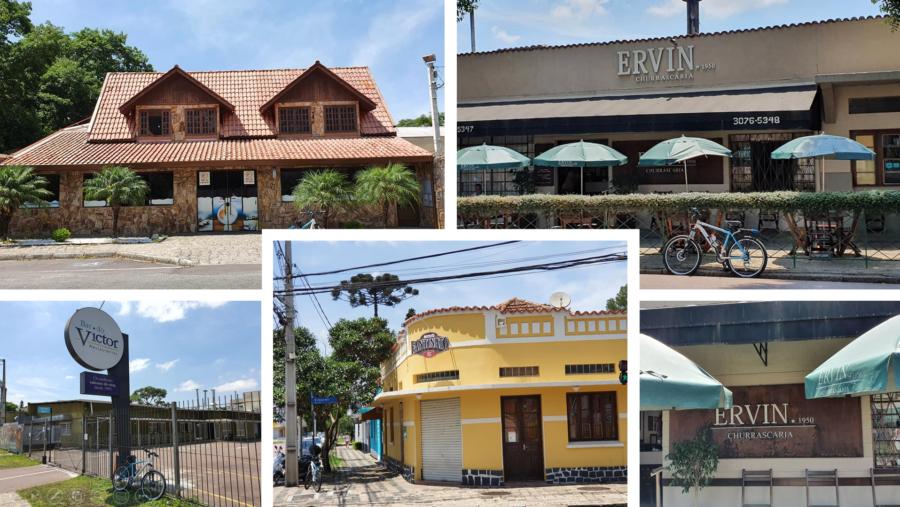 """Gastronomia: Rei do Camarão (1976), Bar do Victor (1669), Mercearia Fantinato (1953) apontada por muitos como melhor """"carne de onça"""" da cidade e a Churrascaria do Ervin (de 1950)."""