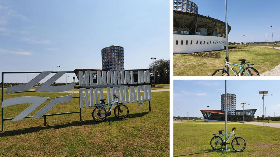 Memorial do Rio Iguaçu (no Parque da Migração Japonesa), que fica às margens do Rio Iguaçu.