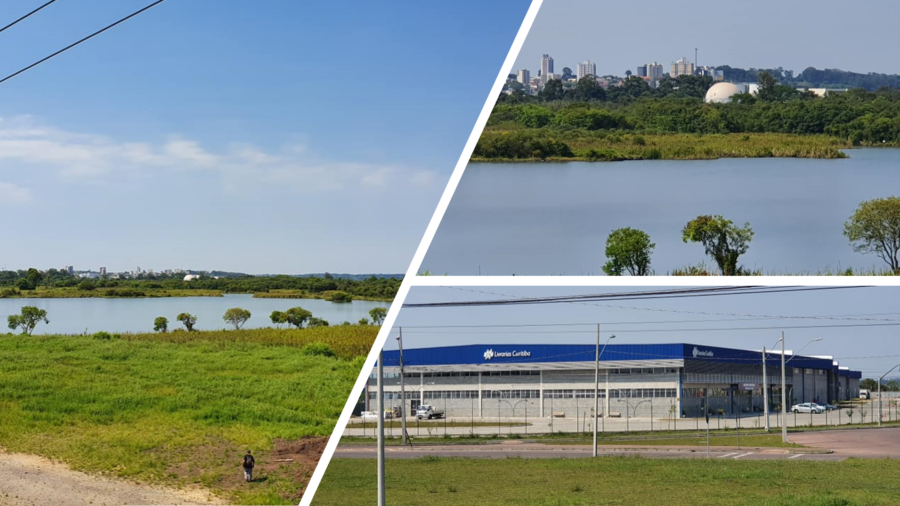 Bio Parque e prédio das Livrarias Curitiba.