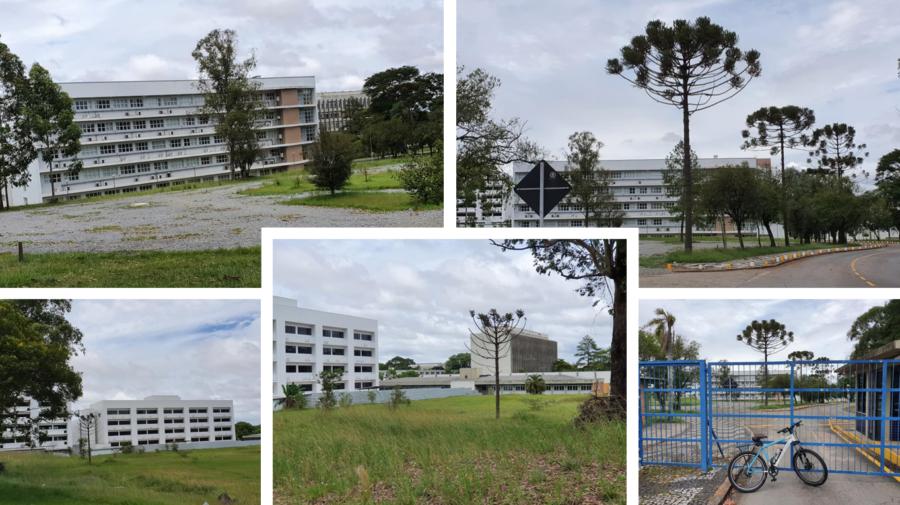 Campus da UFPR - Centro Politécnico.