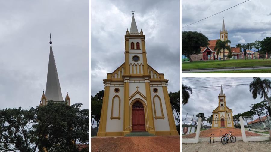 Paróquia Santo Antônio de Orleans.