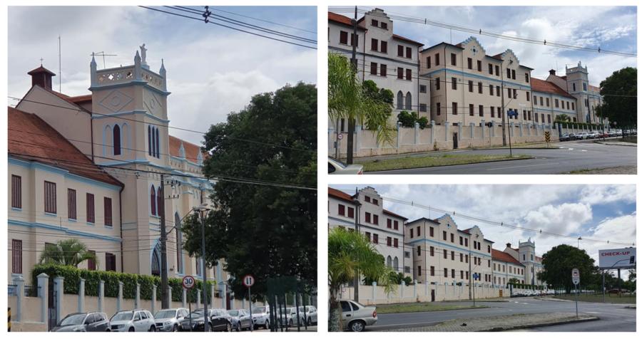 Provincialado das Irmãs de José de Chambery, que na atualidade pertence ao bairro Cristo Rei.