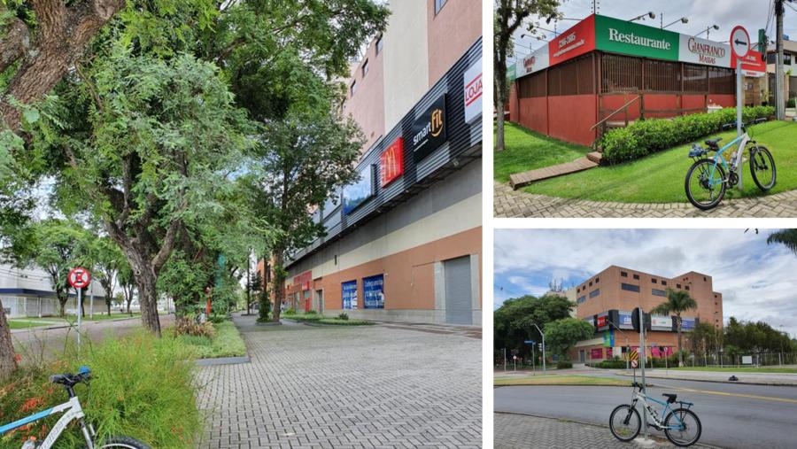 Shopping Jardim das Américas e o Restaurante Gianfranco.