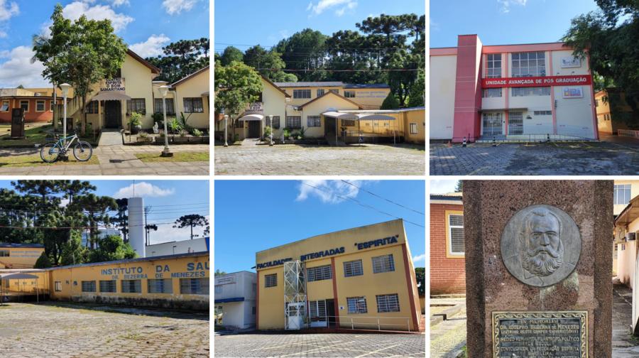 "Centro Espírita ""O Bom Samaritano"" e Faculdades Integradas Espírita."